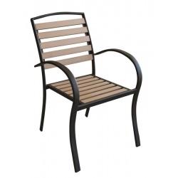POLYWOOD  Стол с подлакътник 60x60см