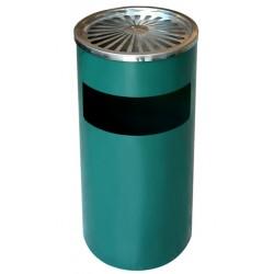 Пепелник кош 18л  Зелен