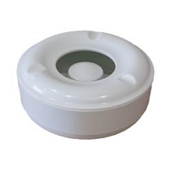 Пепелник меламин кръг БЯЛ