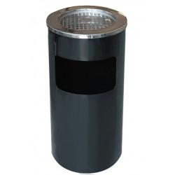 Пепелник кош 30х65см Черен