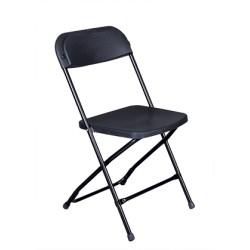 Кетъринг стол черен